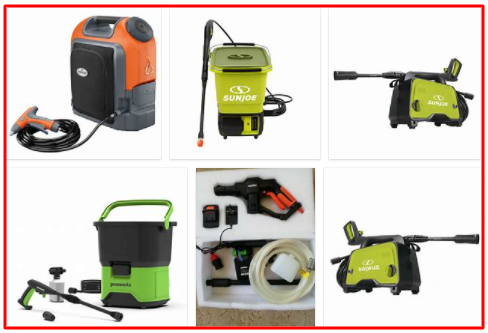 Cordless Pressure Washer Dewalt, Ryobi with Review & For Sale Pressure Washer